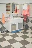 Bathroom cabinet Stock Photo