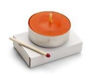 Bathroom Candle Stock Photo