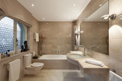 Bathroom, classic design Royalty Free Stock Images
