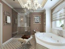Bathroom classic style Royalty Free Stock Photo