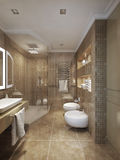Bathroom classical style Stock Images