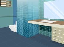 Bathroom colors scene Stock Photo