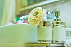 Bathroom corner. Eastphoto, tukuchina, Bathroom corner, Still life Royalty Free Stock Images