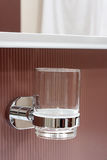 Bathroom cup Stock Images