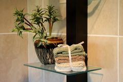 Bathroom Decor Royalty Free Stock Images