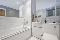 Bathroom with decoration Royalty Free Stock Photography