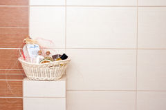 Bathroom decorations Stock Images