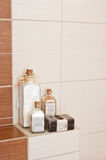 Bathroom decorations Royalty Free Stock Photo