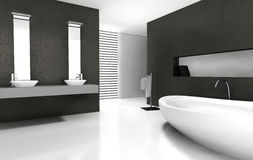 Bathroom Design Stock Photography