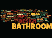 Bathroom Design Strategies That Increase The Value Of Your Home Word Cloud Concept Stock Photos