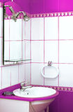 Bathroom detail. A detail of a bathroom with mirror Royalty Free Stock Images