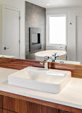 Bathroom Detail in New Home Royalty Free Stock Photos
