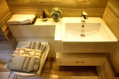 Bathroom details Royalty Free Stock Photo
