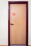 Bathroom Door Royalty Free Stock Image