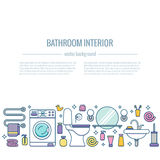 BATHROOM-END 库存照片