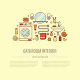 BATHROOM-END 库存图片
