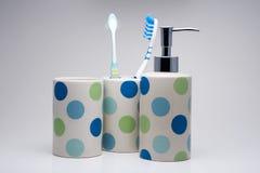 Bathroom equipment Stock Images