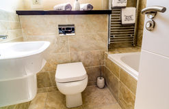 Bathroom. In a family home Stock Photography