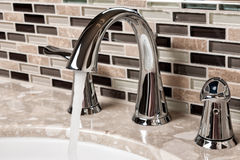 Bathroom Faucet Stock Images