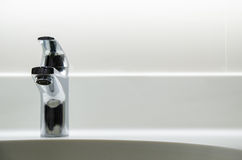 Bathroom faucet Royalty Free Stock Image