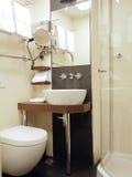 Bathroom five star hotel Riga Latvia Europe Stock Images