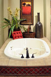 Bathroom With fixtures Royalty Free Stock Photos