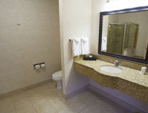 Bathroom and fixtures Royalty Free Stock Photo