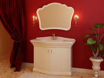Bathroom furniture Royalty Free Stock Photos