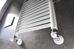 Bathroom heater with window Royalty Free Stock Image