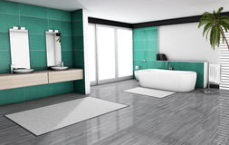 Bathroom Home Interior Royalty Free Stock Image