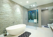 Bathroom in home. Luxury of bathroom in home Royalty Free Stock Images