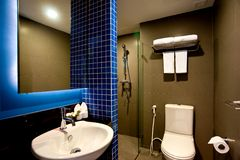 Bathroom Hotel Royalty Free Stock Images