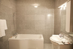 Bathroom from a hotel Royalty Free Stock Photos