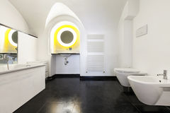 Bathroom of a hotel Stock Photo