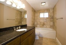 Bathroom in a House Royalty Free Stock Image
