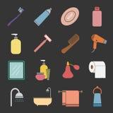 Bathroom icon Stock Photo