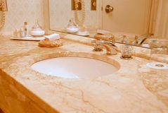Bathroom interior Royalty Free Stock Photography