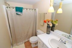 Bathroom Interior. Elegant bathroom interior in a house Royalty Free Stock Image