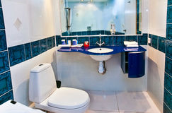 Bathroom interior Royalty Free Stock Photos