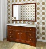 Bathroom interior. Royalty Free Stock Image