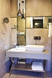 Bathroom interior. Of luxury resort hotel stock images