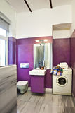 Bathroom interior. Of a modern house stock images