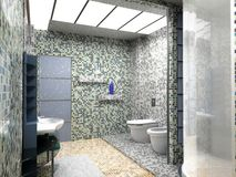Bathroom interior Stock Photos