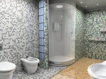 bathroom interior Στοκ Φωτογραφίες
