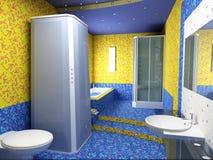 bathroom interior Στοκ Φωτογραφία