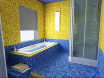bathroom interior Στοκ εικόνες με δικαίωμα ελεύθερης χρήσης