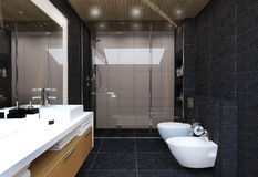 Bathroom interior Stock Photography
