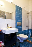 Bathroom interior. Of luxury apartment royalty free stock photography