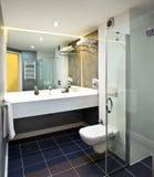 Bathroom interior. Of luxury resort hotel stock photos
