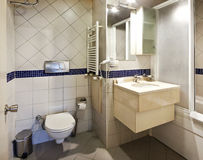 Bathroom interior. Of luxury resort hotel Royalty Free Stock Photography